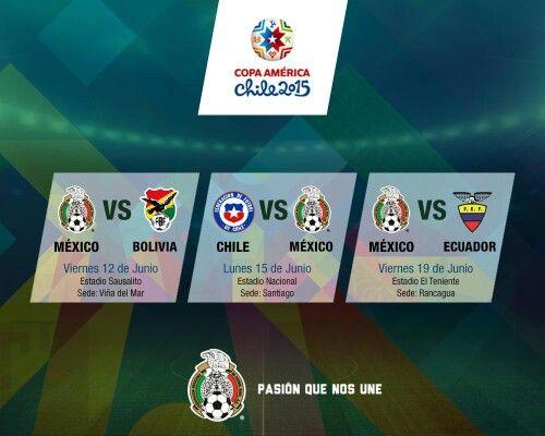 Copa América 2015   partidos México