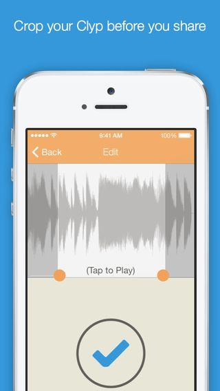 Clyp er gratis. Med Clyp kan man optage lydfiler og få et link, der så kan deles. Dette kan man på pc med vocaroo.com. Fint det også er muligt på iPad.