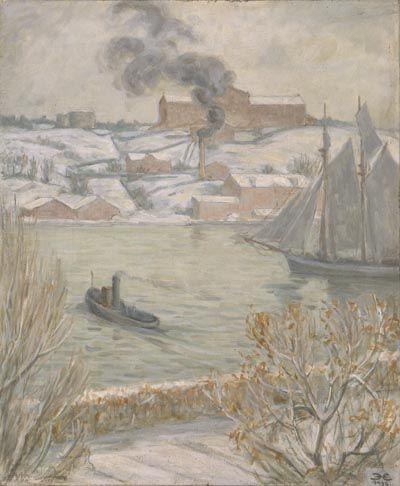 Grå vinterdag | Prins Eugens Waldemarsudde