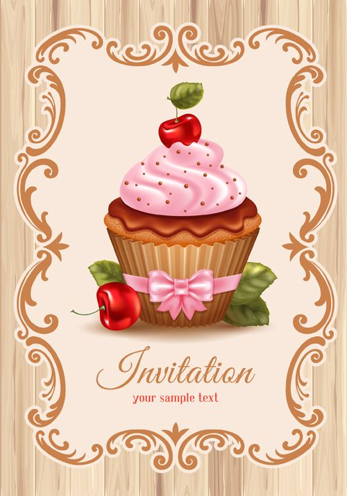 Cupcake Design Vector : 25+ best ideas about Cupcake vector on Pinterest Cupcake ...