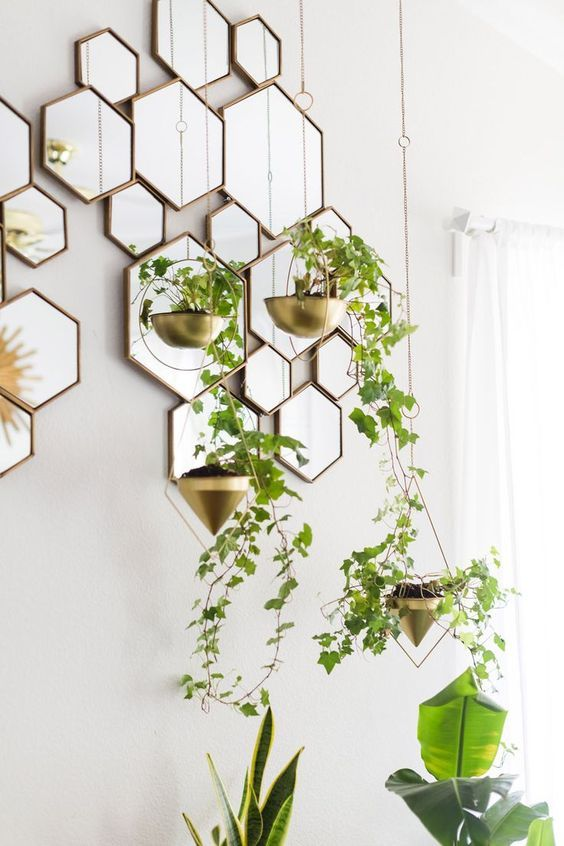 Wall Decor With Plants : Best decorative wall mirrors ideas on