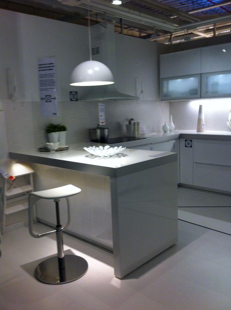 Metod ringhult hooglanzend wit keuken 6 ikea gent for Metod keuken