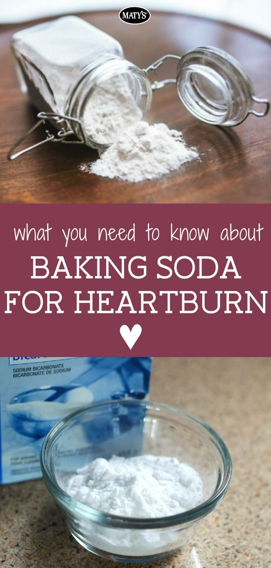 Infographic: What you need to know about baking soda for heartburn