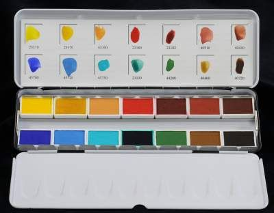 Art Supplies Pigments To Put In Paint