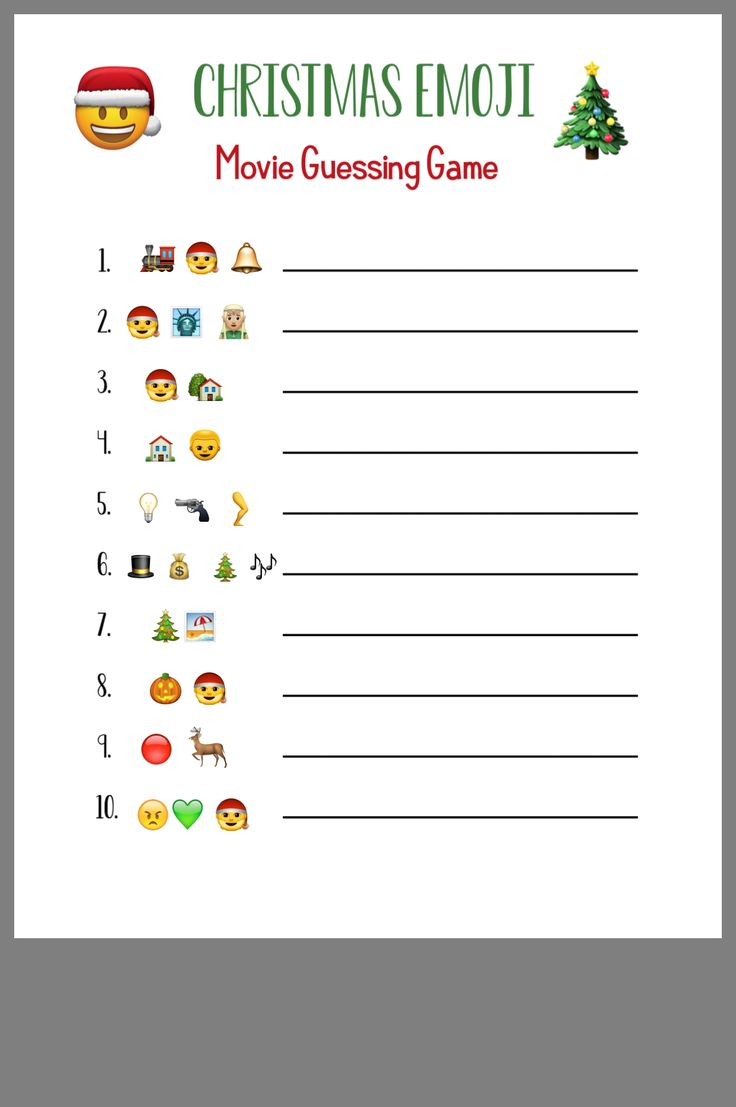 Emoji Birthday Party Games