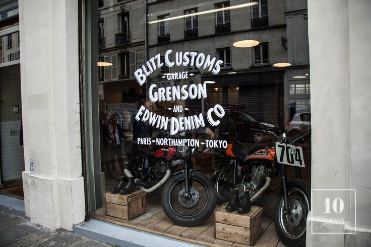 Grenson x Blitz Motorcycles x Edwin New Collaboration Launching Party