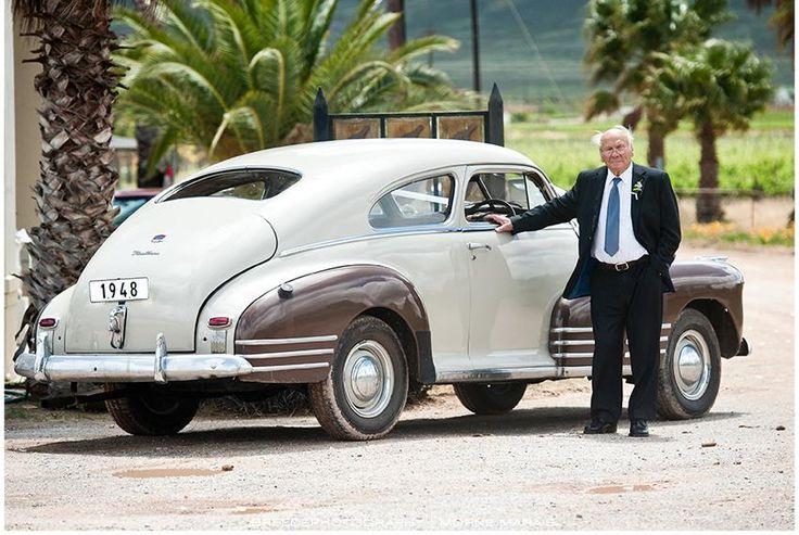 Vintage cars at Bon Cap