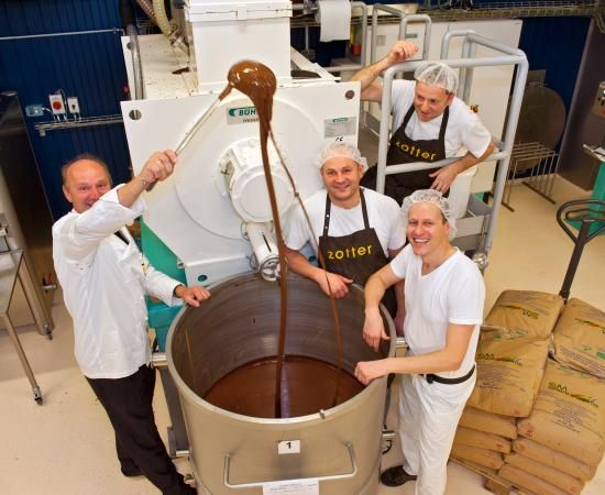 Zotter Chocolate Factory in Riegersburg