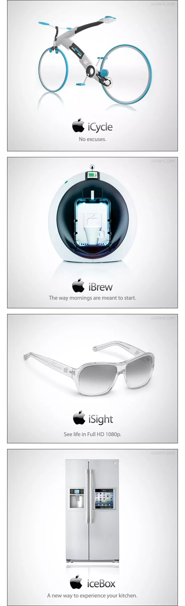 10 Possible Future Products from Apple [Humorous Images]