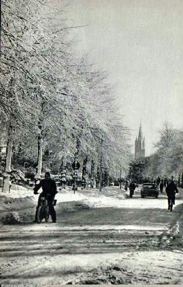 Winter in Hilversum, lang geleden.