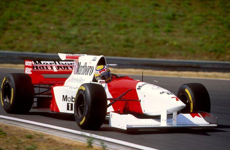 Mark Blundell | McLaren MP4/10B | Hungarian Grand Prix