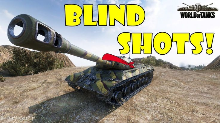World of Tanks - Funny Moments   BLIND SHOTS! #11