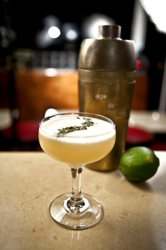 Sleeping Car | Apricot infused Cognac, Calvados, Lemon Juice, Mint and ...
