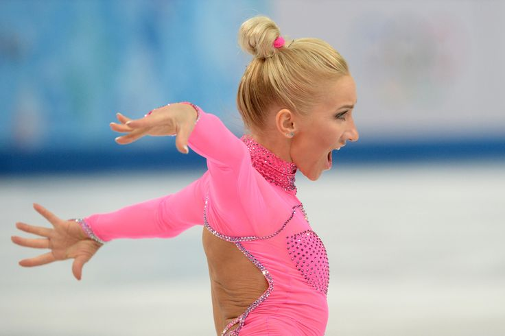 ice skaters pink panther | This German Olympic Figure Skater's Hot Pink 'Pink Panther' Catsuit Is ...