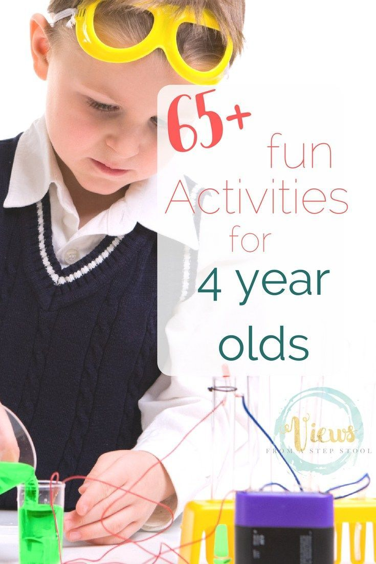 65 Fun Activities For 4 Year Olds Creative Kids Activities 4 Year Old Activities 3 Year Old Activities Activities For 5 Year Olds