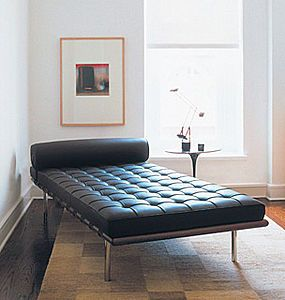 Divano letto design bauhaus  BARCELONA by Ludwig Mies Van der Rohe