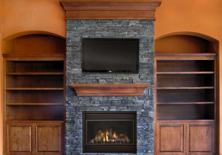 Marble fireplace mantels traditional higher square shape - Stone fireplace surround ideas ...