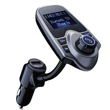 Bluetooth fm transmissor, universal fm transmissor sem fio / mp3 player / carregador de carro de 4941670 2016 por €70.95