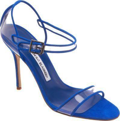 Manolo Blahnik #shoes #heels #pumps  fersen blue #sandals