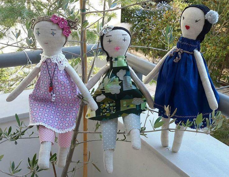 Handmade dolls by Katerina