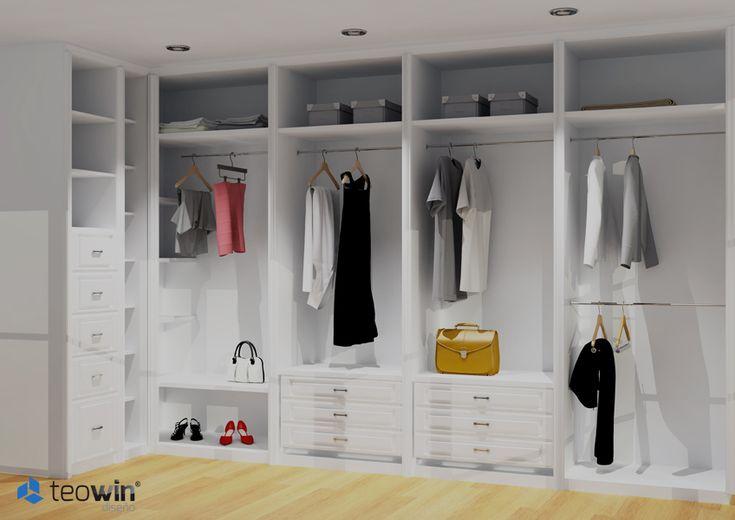 Teowin software de dise o de armarios y vestidores - Revestir armario empotrado ...