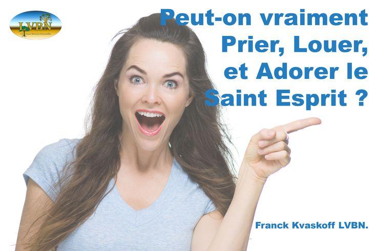 Ne vous privez plus de cette relation avec Lui !!!  Franck Kvaskoff Ministère Chrétien LVBN www.lavraiebonnenouvelle.org
