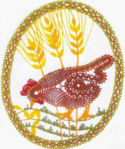 Sliepočka od Jarky Rybánskej / bobbin lace