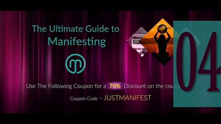 Ultimate Guide to Manifesting Course - Sample Video #4