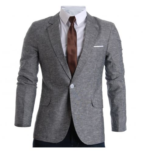 FLATSEVEN Mens Slim Fit Linen Stylish Casual Blazer Jacket (BJ205) Mens Clothing |http://www.planetgoldilocks.com/mens_clothing.htm FLATSEVEN designer mens fashions at reasonable prices #worldwide http://www.planetgoldilocks.com/mens_clothing.htm #mensFashions #suits #blazers #ties
