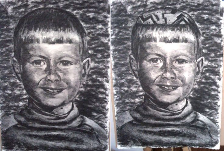 ARTWORK (Drawing) self portrait
