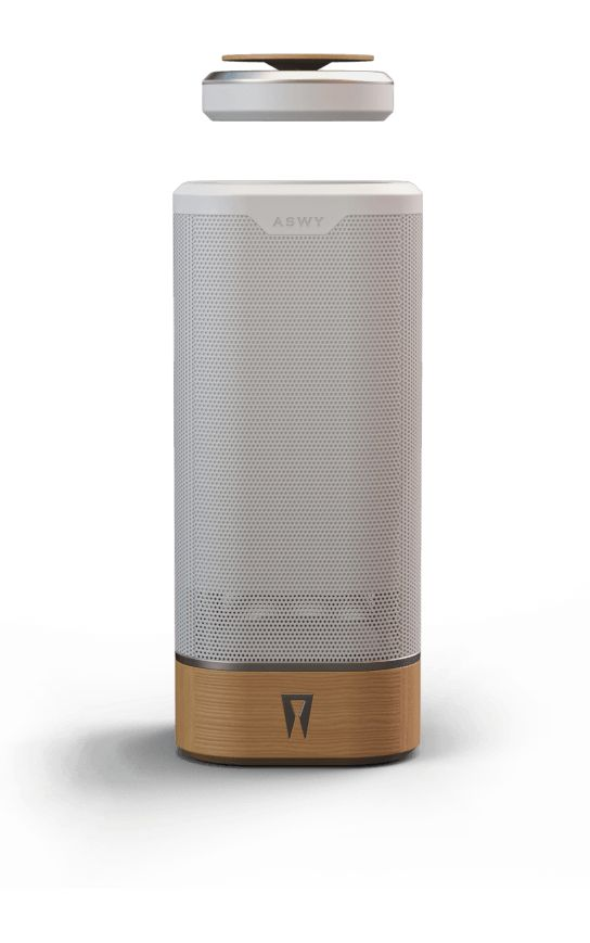 SPACO - Your new bass and the in the air floating tweeter. #levitation #speaker #audio #sound