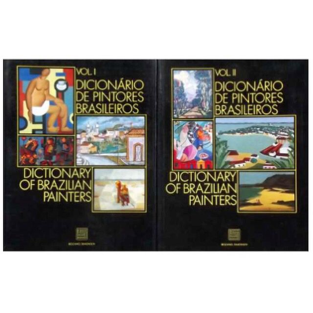 Dicionário de Pintores Brasileiros Walmir Ayala | Dois livros em capa dura com sobre-capa, Vol. 1 com 493 páginas e Vol. 2 com 457 páginas | formato 30x24cm | Ilustrado | Reúne 1615 verbetes crítico-biográficos.  Casa Brasileira | leilão de abril 06 de abril às 20:00 hs www.iarremate.com   iArremate, aqui nós gostamos de arte.  #casabrasileira #art #arte #arquitect #decor #design #casacor #artbasel #livros #books #iArremate #leilao #auction #subasta #leilaodearte #fineart #collection