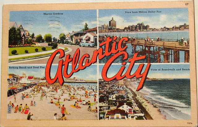 i like this postcard because it looks old and it makes the place look more old as the colours used are quit dull