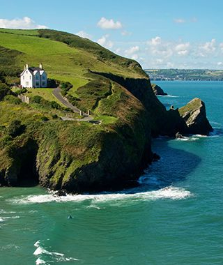 Wales Coast Path, Wales  At approximately 870 miles, the Wales Coast Path traces the country's complete coastline. But you don't have to endure the entire trek to glimpse its highlights: the misty mountains of Snowdonia, the Dee Estuary's cockle-strewn beaches, or breezy Cardigan Bay.