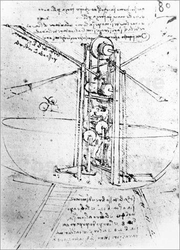 Schon Leonardo Da Vinci machte sich Gedanke zum ewigen Traum des Fliegens. Heute sind seine Skizzen die ersten und bekanntesten zum Thema Luftfahrt.