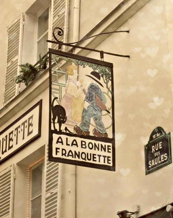 Vintage shop sign paris france pinterest shop signs for Retro shop paris