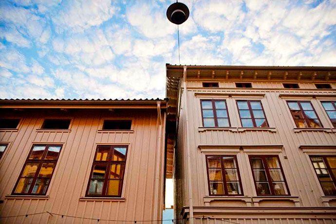 The old neighbourhood Haga, Gothenburg. Photo by Beatrice Törnros