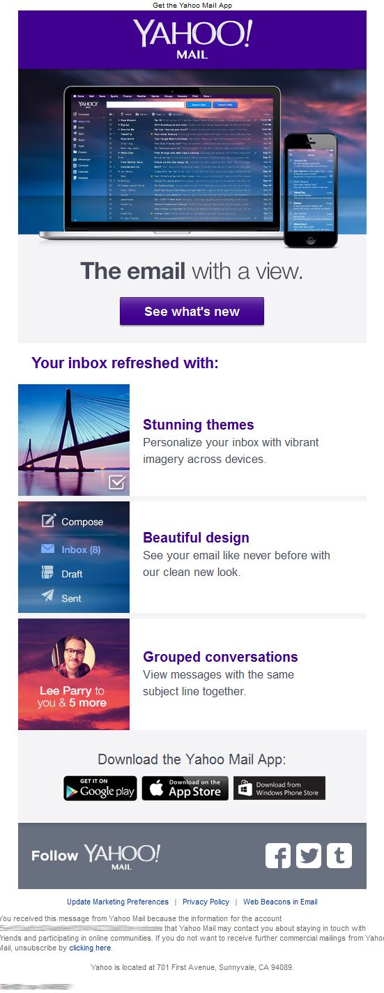 badoo messages login yahoo mail