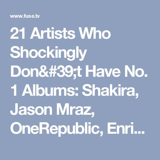 21 Artists Who Shockingly Don't Have No. 1 Albums: Shakira, Jason Mraz, OneRepublic, Enrique Iglesias, David Bowie, Cher, Ramones - List - Fuse