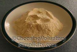 How to make garlic powder.