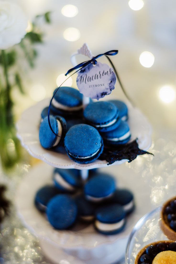 15 best Sweet Candy Table Winter blau silber images on Pinterest ...