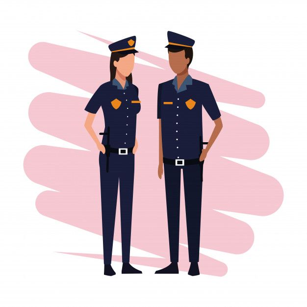 Police Officers Job And Workers Police Officer Jobs Police Officer Worker