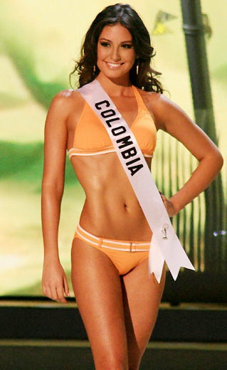 Miss Colombia 2008. Taliana Vargas