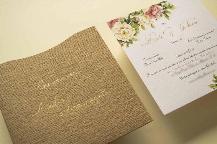 Lembranças e convites de casamento - Papel e Estilo. Modelos de convites, preços, opiniões, disponibilidade, telefone e endereço. Escolha o convite do casamento que tem seu estilo!
