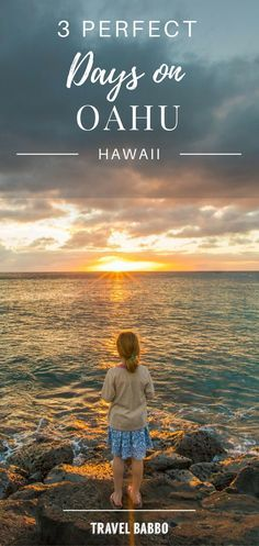 3 Perfect Days on Oahu, Hawaii #TheBucketList always includes #Hawaii. #Oahu did not disappoint on our quick weekend getaway. With flight prices dropping it is becoming an affordable #destination for a #familyvacation. #HawaiiHoliday