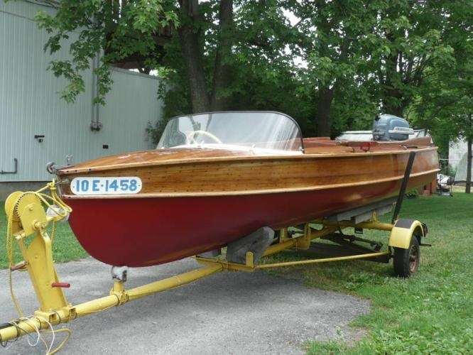 Classic Wooden Boats Vintage Wood Small Sled Canoes Kayaks Peterborough Motors