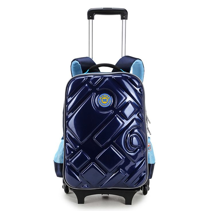 Good Quality Kids Backpack Multifunctional Children School Bags with Wheel Reflective Strip Trolley Case Luggage for Boys Girls #Affiliate