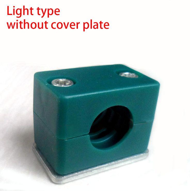 6-30mm klemmen ø hydraulische pijp plastic klem licht type zonder afdekplaat, korte stalen schip plaat lassen olie buis din3015(China (Mainland))