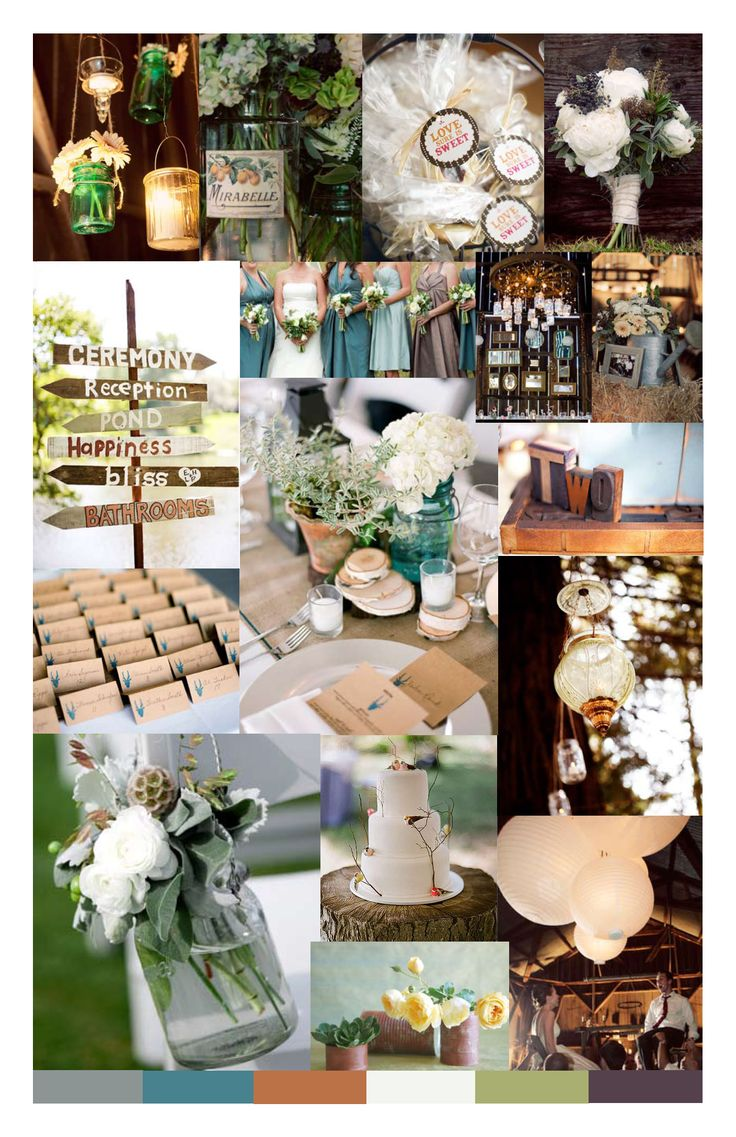 rustic vintage theme wedding   Collect Collect this now for later