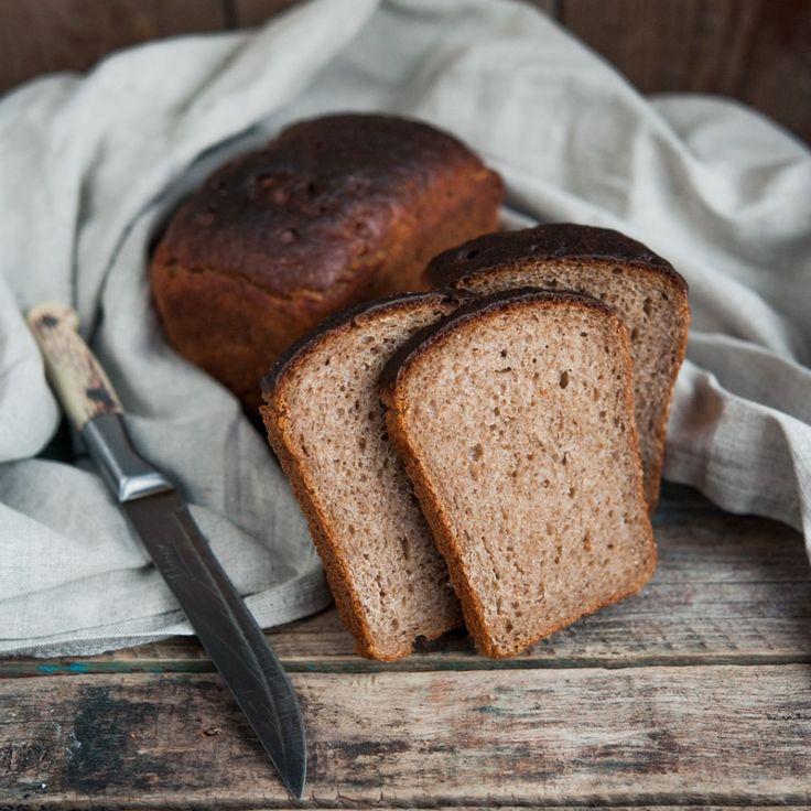 Darnitsky bread (Russian recipe)/Дарницкий хлеб на закваске